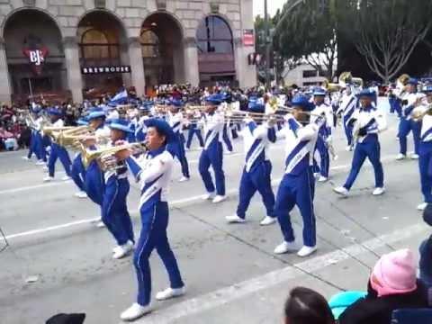Banda El Salvador 2013 en el 124 Desfile de Las Rosas