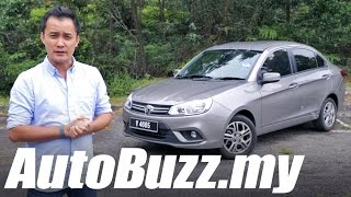 2016 Proton Saga Premium CVT review - AutoBuzz.my