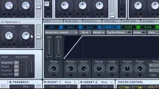 How to Make a Dirty Electro Bassline ( Massive )