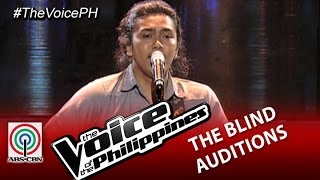 """The Voice of the Philippines Blind Audition  """"Mateo Singko"""" by Rence Rapanot (Season 2)"""