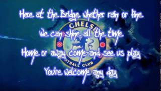 Chelsea FC Theme Song - Blue Is The Color Lyrics   HD - YouTube.flv
