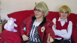 Hetalia cosplay: An interview with America and England