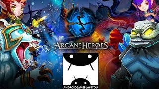 Arcane Heroes Android GamePlay Trailer (By Seventh Studio) [Game For Kids]