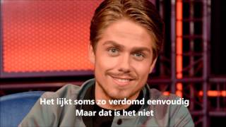 André Hazes Jr - Niet voor lief (met lyrics)
