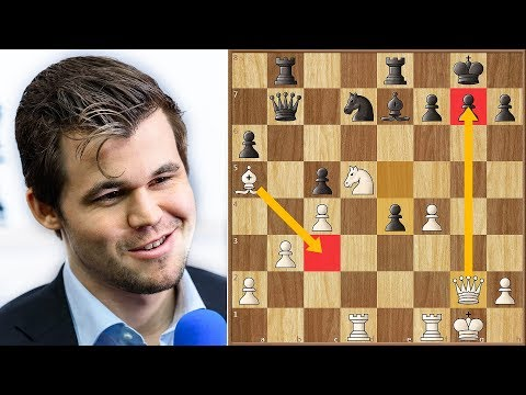 Revenge is a Dish Best Served in Wijk Carlsen vs Rapport Tata Steel Masters 2019