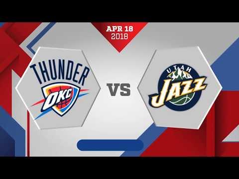 Utah Jazz vs. Oklahoma City Thunder Game 2: April 18, 2018