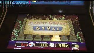 Bally Wullf Gold über 40 CG`s, Seven Jackpot Jagd, Spielbank Sizzling Hot (alte Automaten)