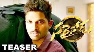Allu Arjun's Sarrainodu Movie  Teaser || Tollywood Telugu Latest Movie 2016