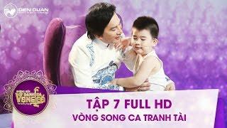 Đường đến danh ca vọng cổ | tập 7 full hd: Con trai HLV Kim Tử Long bất ngờ làm phụ diễn