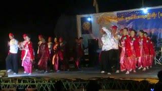 Kayah traditional dancing in Loikaw