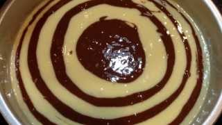 Zebra Cake Tutorial