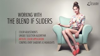 Retouching Tutorial: Working with Layer Blend If Sliders in Adobe Photoshop
