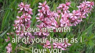 LOVE ME WITH ALL OF YOUR HEART -by- Engelbert Humperdinck(created by:Zairah)