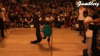 Bboy The End (Gamblerz) - Jackhammers to Airflare (IBE 2010)