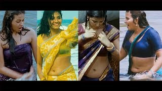 Anjali Ultra Hot Show in Saree Part-1