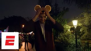 A visit to Disneyland with Kristaps Porzingis | Hang Time with Sam Alipour | ESPN Archives