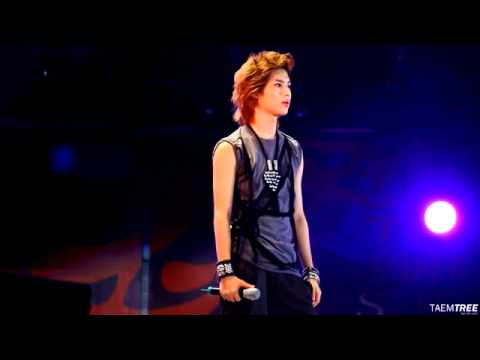 100821 SHINee 화살 Quasimodo Taemin focused fancam full SM Town Live