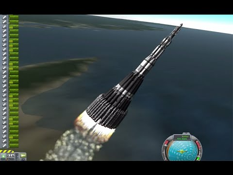 KSP Mars Ultra Direct Ludicrous single launch to Mars in Real Solar System