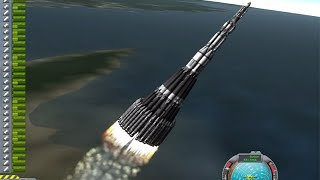 KSP Mars Ultra Direct: Ludicrous single launch to Mars in Real Solar System