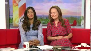 Tina Daheley and Victoria Fritz  BBC Breakfast 5/8/18