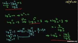 لگاریتم ۰۸- تغییرمبنا در لگاریتم