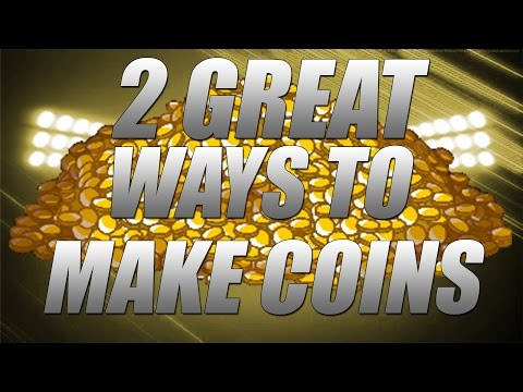 2 GREAT WAYS TO MAKE COINS 20k Every 5 Minutes Madden Mobile 17