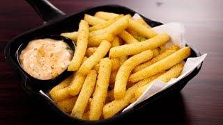 Download सबसे आसान तरीके वाली कुरकुरी फ्राइज - suji french fries recipe quick crispy - cookingshooking