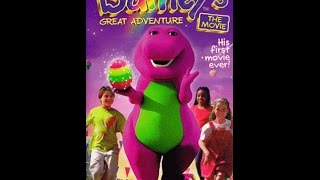 Opening to Barney's Great Adventure: The Movie 1998 VHS (2002 Universal Print)