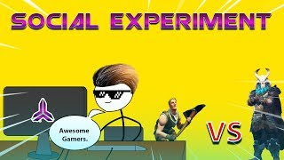 What If A Gamer Do Social Experiment In Game