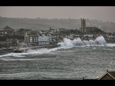 Penzance Storm - February 2014 (HD)