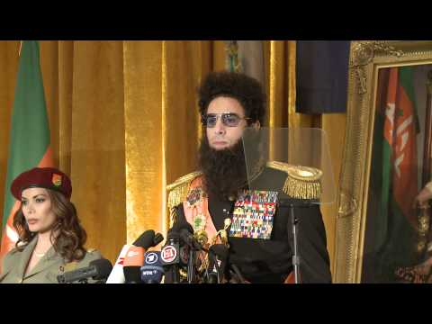 The Dictator discusses the 25 virgins he trusts
