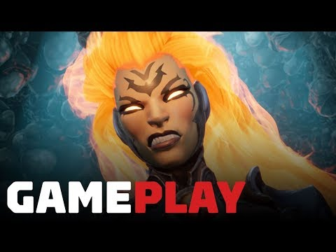 6 Minutes of Darksiders 3 Sloth Boss Gameplay