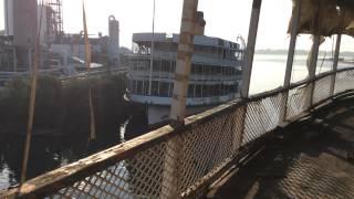 Walking Perimeter of the SS Columbia