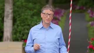 Bill Gates accepts a challenge from Mark Zuckerberg