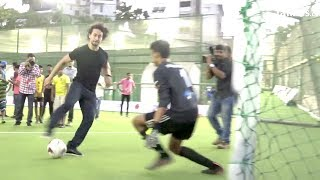 Tiger Shroff's Amazing Football STUNTS In Public