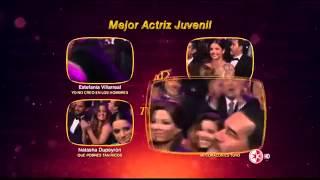 Paulina Goto Ganadora Mejor Actriz Juvenil en los Premios TVyNovelas 2015