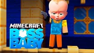 Minecraft - BOSS BABY TURNS INTO HELLO NEIGHBOUR?!