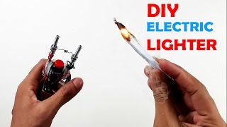 How to Make an Electric Hot Wire Lighter - How To Make an Electric Lighter at Home