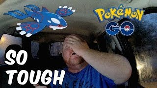 Pokemon GO   Weather Boosted Kyogre Raid   Toughest Legendary Boss To Catch So Far?