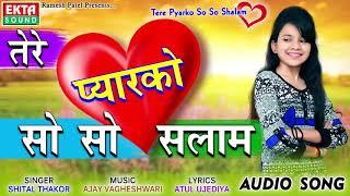 Shital Thakor New Song - Tere Pyar Ko So So Salam | Love Song | New Hindi Song 2018 | RDC Gujarati