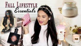 Fall Essentials 2017 -  Lifestyle Beauty & Fashion Favorites! iHeartFall Ep 10 - MissLizHeart