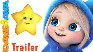 🌟  Twinkle Twinkle Little Star - Trailer | Nursery Rhymes and Baby Songs from Dave and Ava 🌟