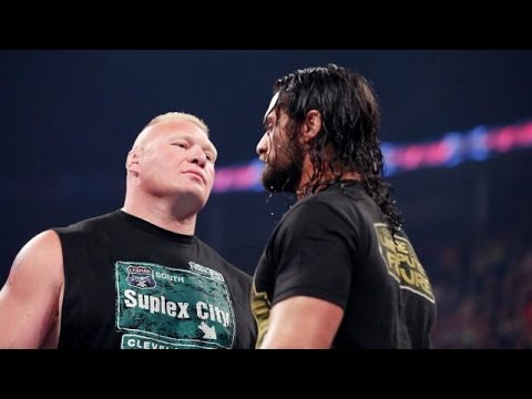 Brock Lesnar regresa en Monday Night RAW - 15/06/15 - Español - WWE HQ