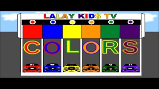 Learn Colors And Racecars - Colors for Children to Learn with Car Parking, Cars Garage