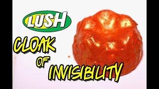 LUSH - CLOAK OF INVISIBILITY Luxury Bath Oil - DEMO - Underwater - REVIEW
