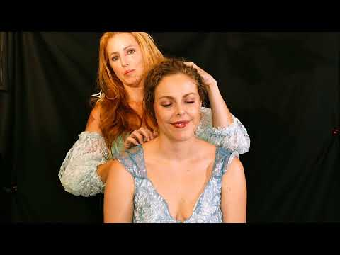 Xxx Mp4 Princess Corrina Maid Servant Adrienne ASMR Role Play Scalp Massage Hair Play Treatment 3gp Sex