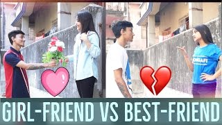 Bangla New Funny Video |Girlfriend vs Bestfriend |New video 2017 |Being Bong|
