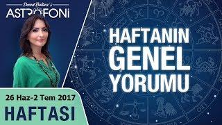 Genel Haftalık Astroloji Burç Yorumu 26 Haziran-2 Temmuz 2017