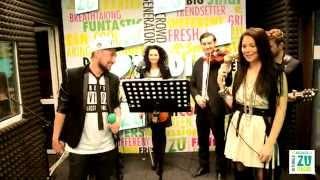 F.Charm feat. Ligia - 30 de grade (Live la Radio ZU)