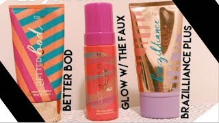 Tarte Cosmetics Why and How to Use the Glow with the Flow Self Tanner